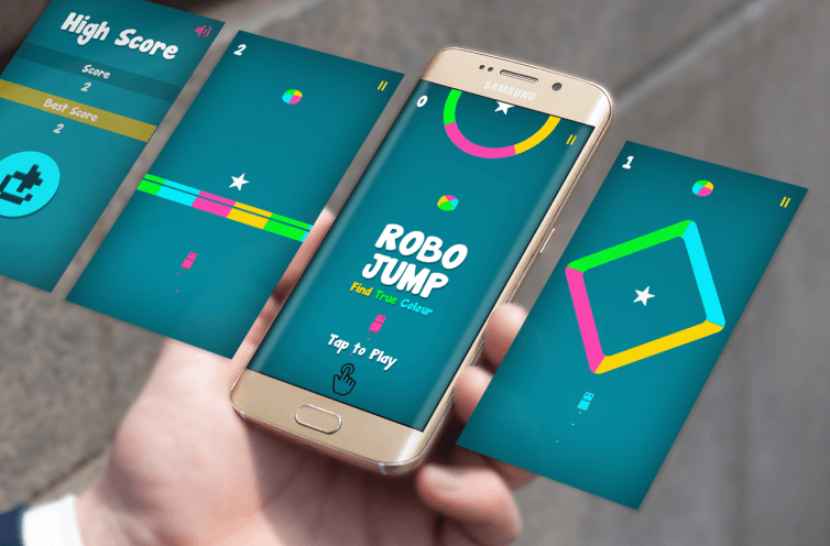 Robo Jump Find True Colour Android