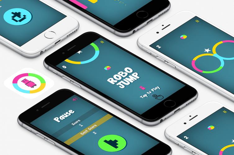 Robo Jump – Find True Colour iPhone