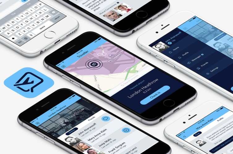 Traveller – Socialize while you are travelling iPhone
