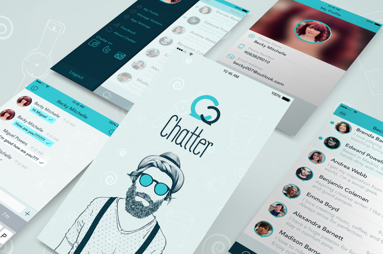 Chatter iPhone Application Design